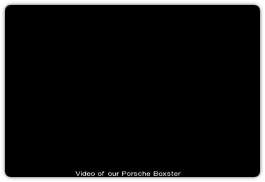 Video of our Porsche Boxster